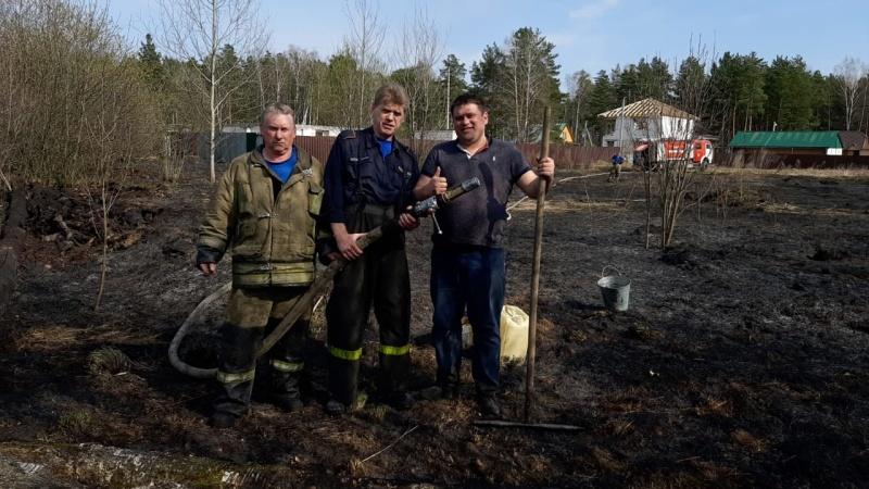Сотрудник ОНД и ПР по городскому округу Реутов спас мужчину из огня